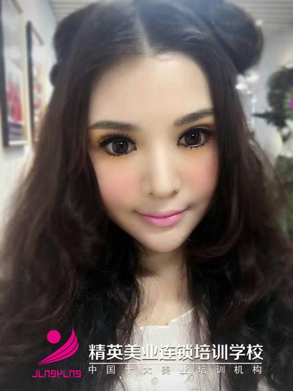 深圳歐式芭比娃娃妝培訓