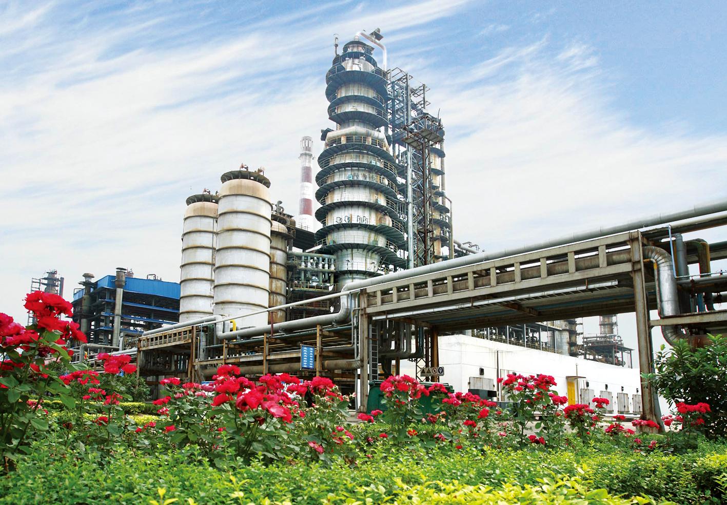 東明中油催化裝置