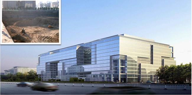 北京凱晨廣場基坑工程