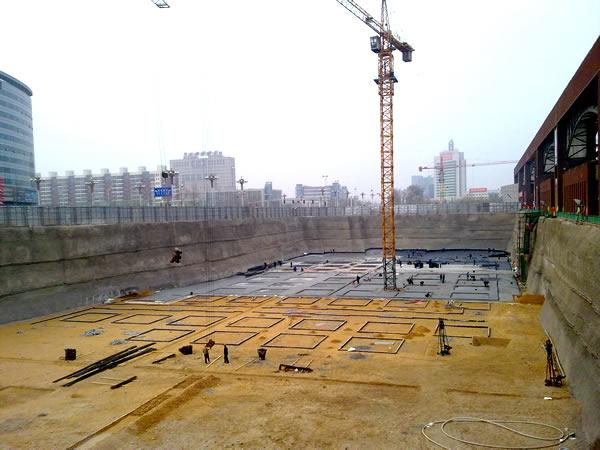 唐山會展中心西廣場改造勘察與基坑支護設計與施工