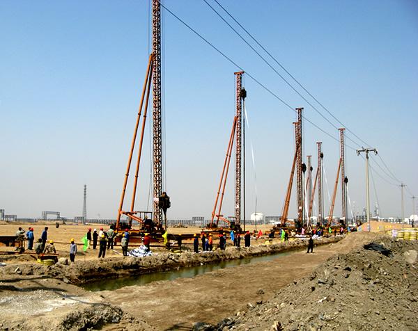 天津大沽化工臨港工程真空預壓地基處理工程