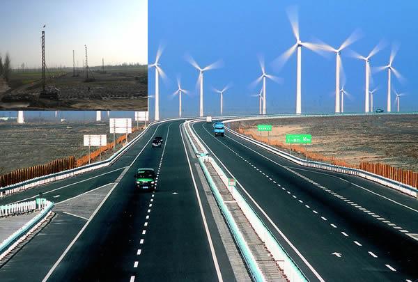 阿深高速公路河南省扶項NO.6合同段鑽孔灌注樁及軟地基攪拌樁工程