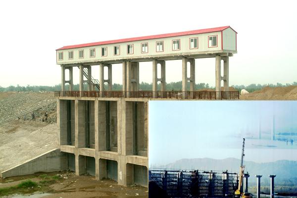 灤河遷安市段三裏河橋涵防洪工程
