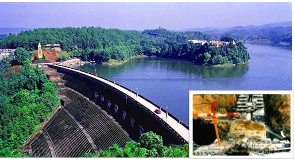 日本味噌川水壩帷幕灌漿工程