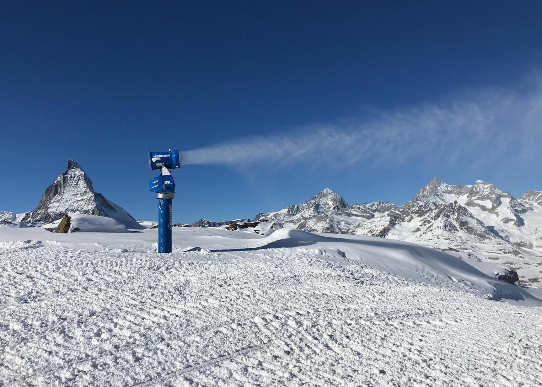 滑雪場造雪機