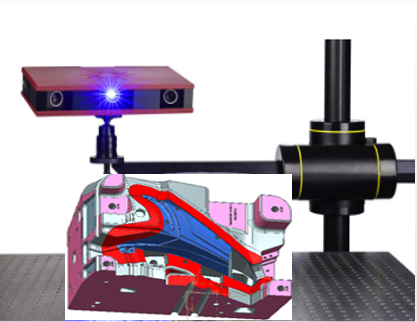 GOMATOS3D藍光掃描