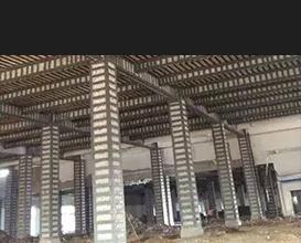 柱包鋼加固施工