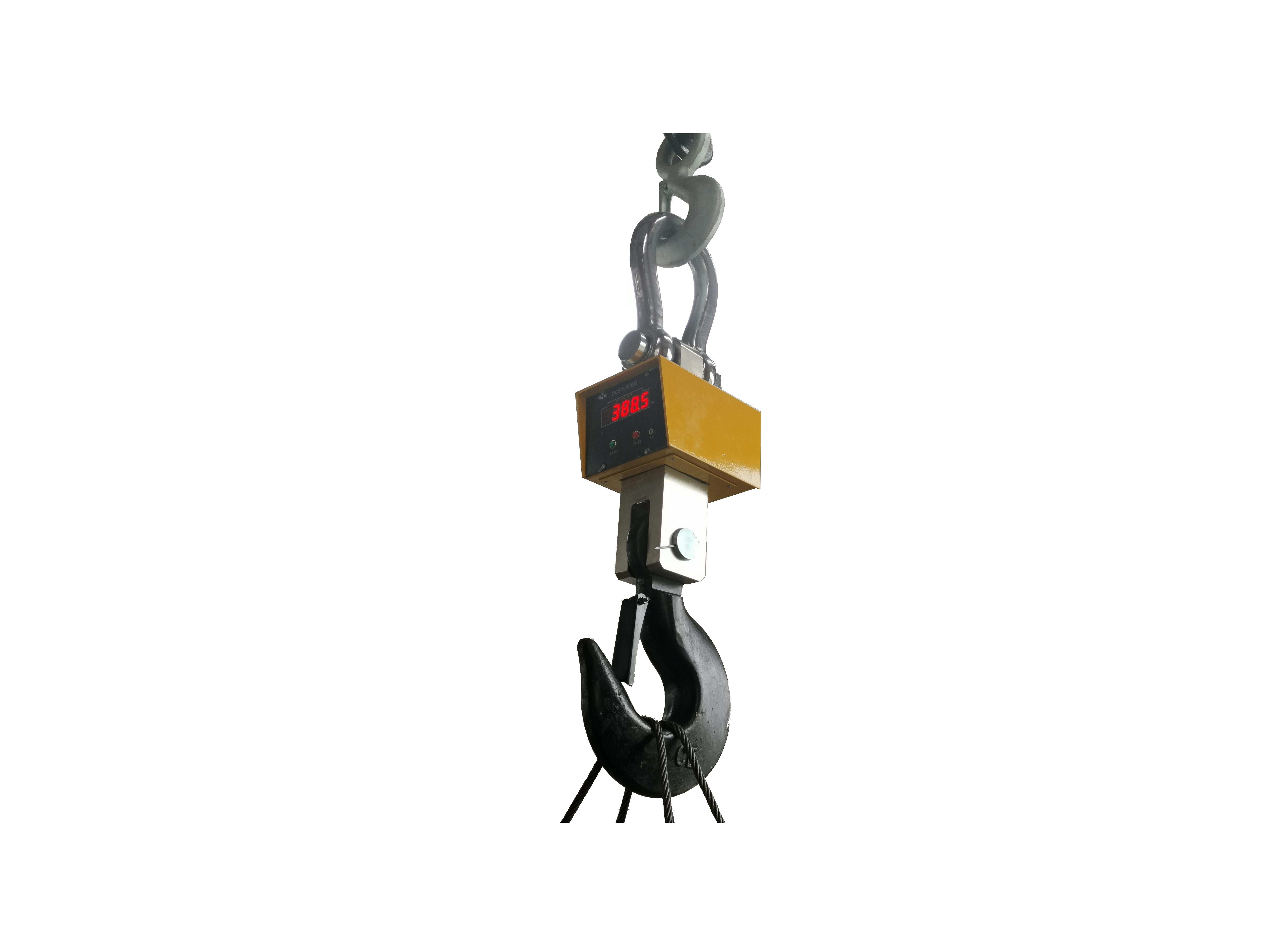 直視吊鉤秤精度高1~30T噸碼頭秤鋼廠港口用掛鉤式無線電子吊秤