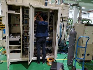 PLC控制柜维修