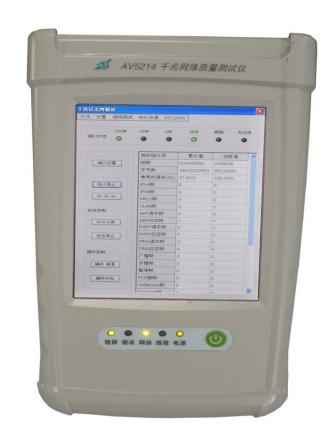 通信類-5214手持式千兆網絡質量測試儀