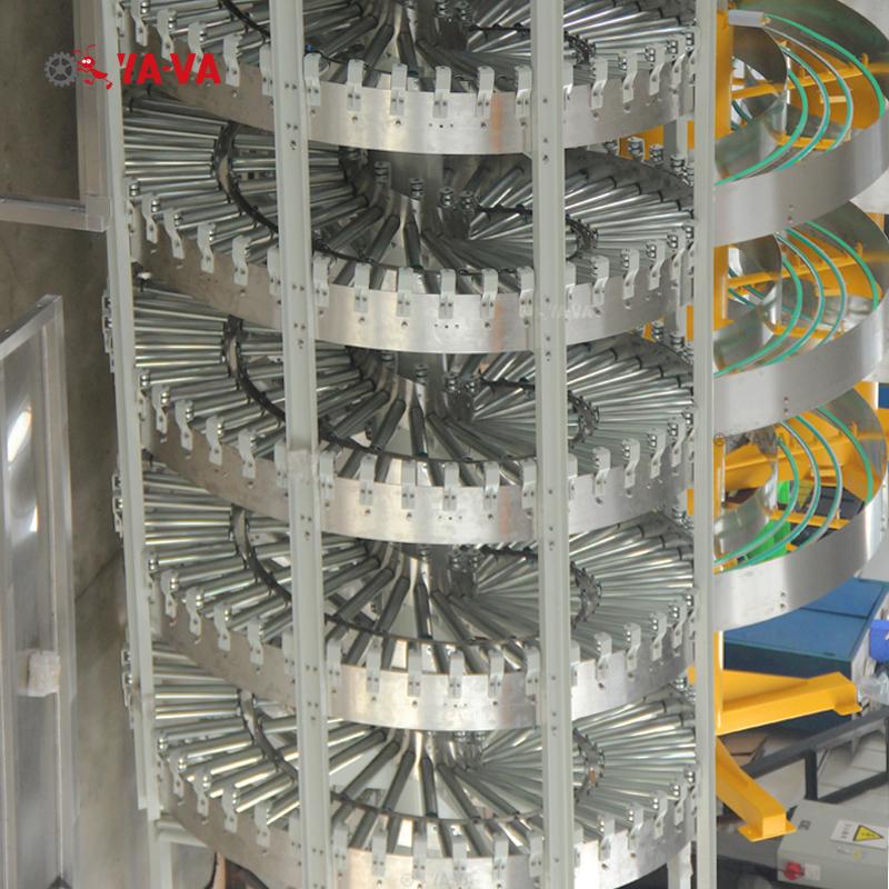 雙道無動力滾筒螺旋機-2