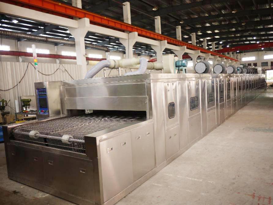 隧道式高壓噴淋清洗設備2-家電行業