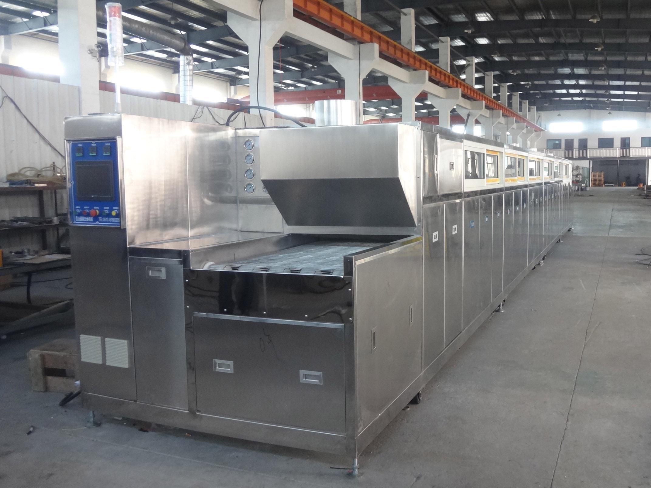 壓網式超聲波清洗設備2-家電行業