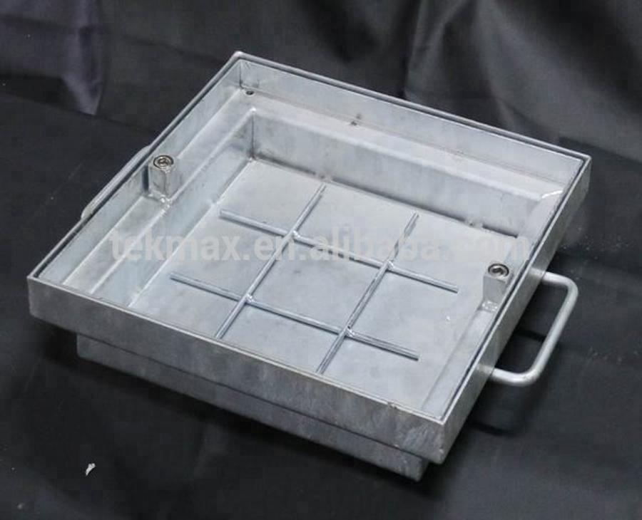 嵌入式人孔盖-B1-热浸镀锌尺寸