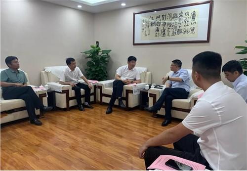 順投集團黨委書記、董事長唐鋮宏會見中鐵十局一公司一行