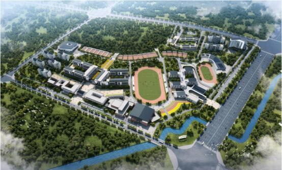 北京師范大學宣城學校鳥瞰圖