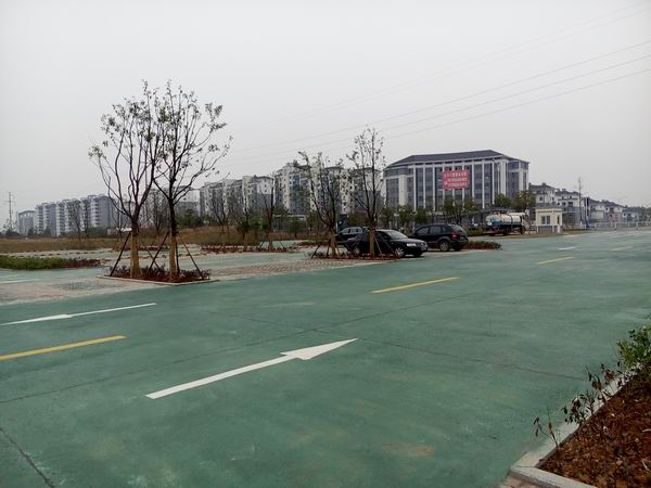宣城中學停車場