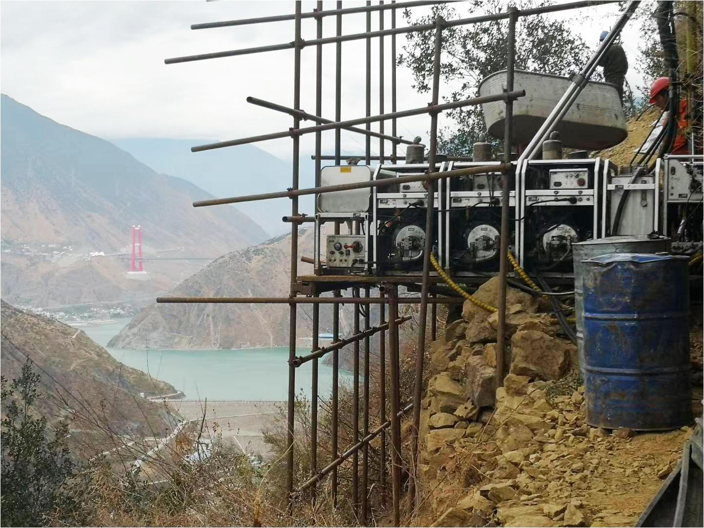 桥梁勘察钻探施工