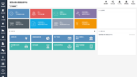 互联网-营业管理智能化平台管理看板