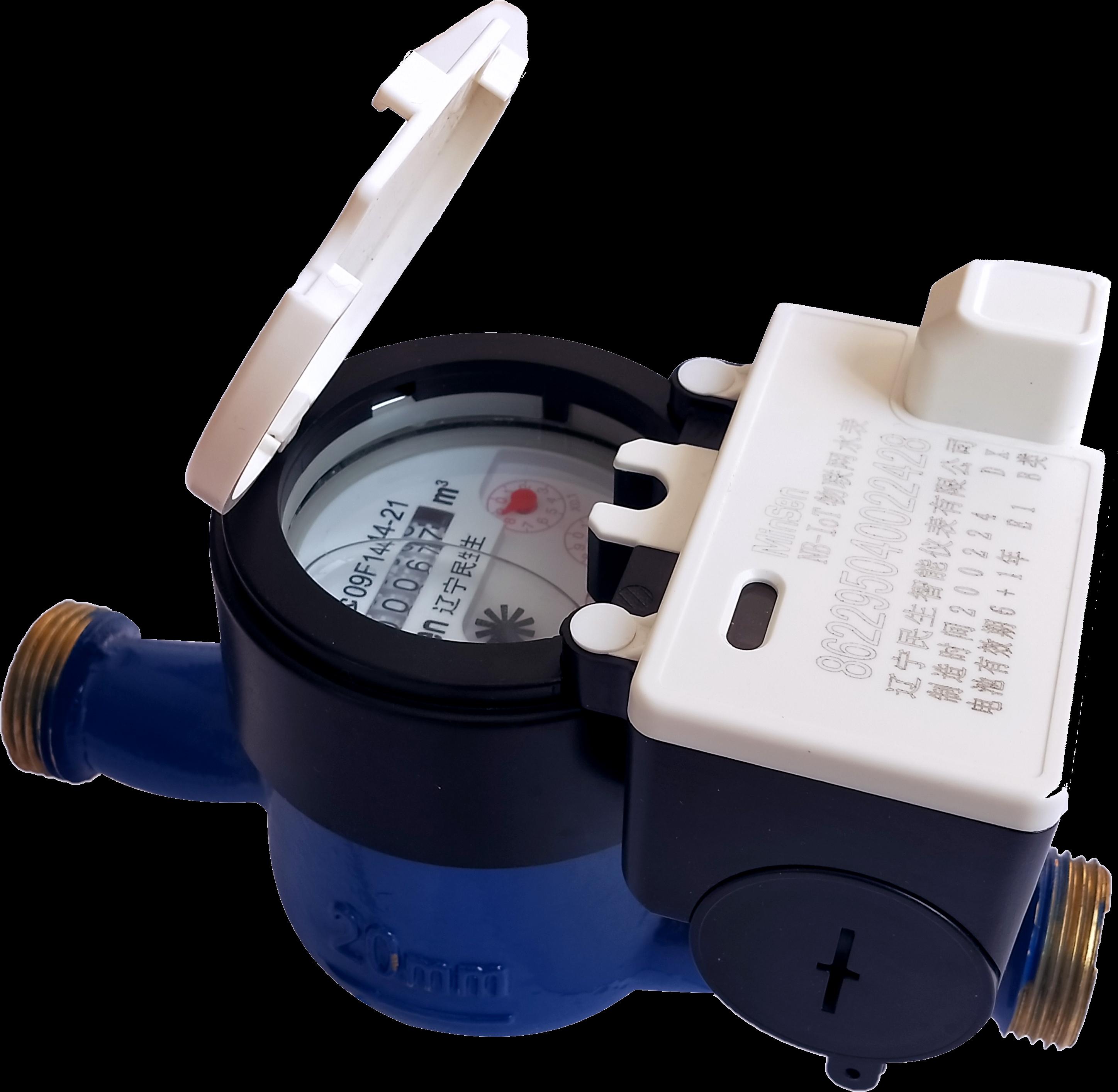产品抠图-2智慧水务-分体式NB-IOT物联网水表1