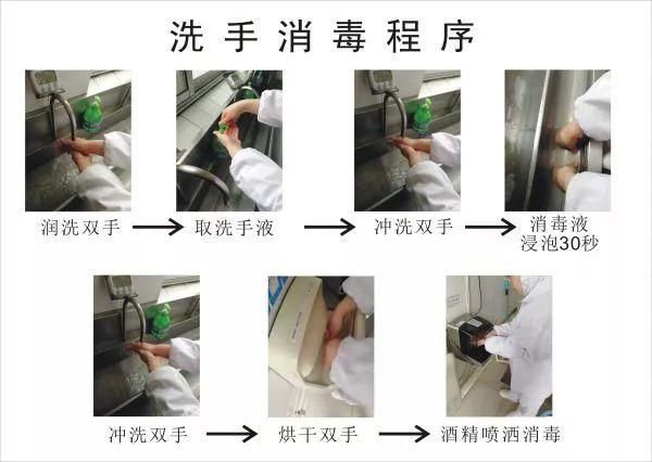食品厂洗手消毒流程