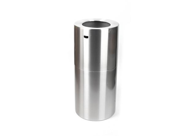 戶外垃圾桶-45L鋁制商務桶