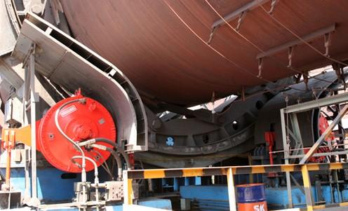 采用数字液压马达驱动控制大型工业炉窑实现精密运动