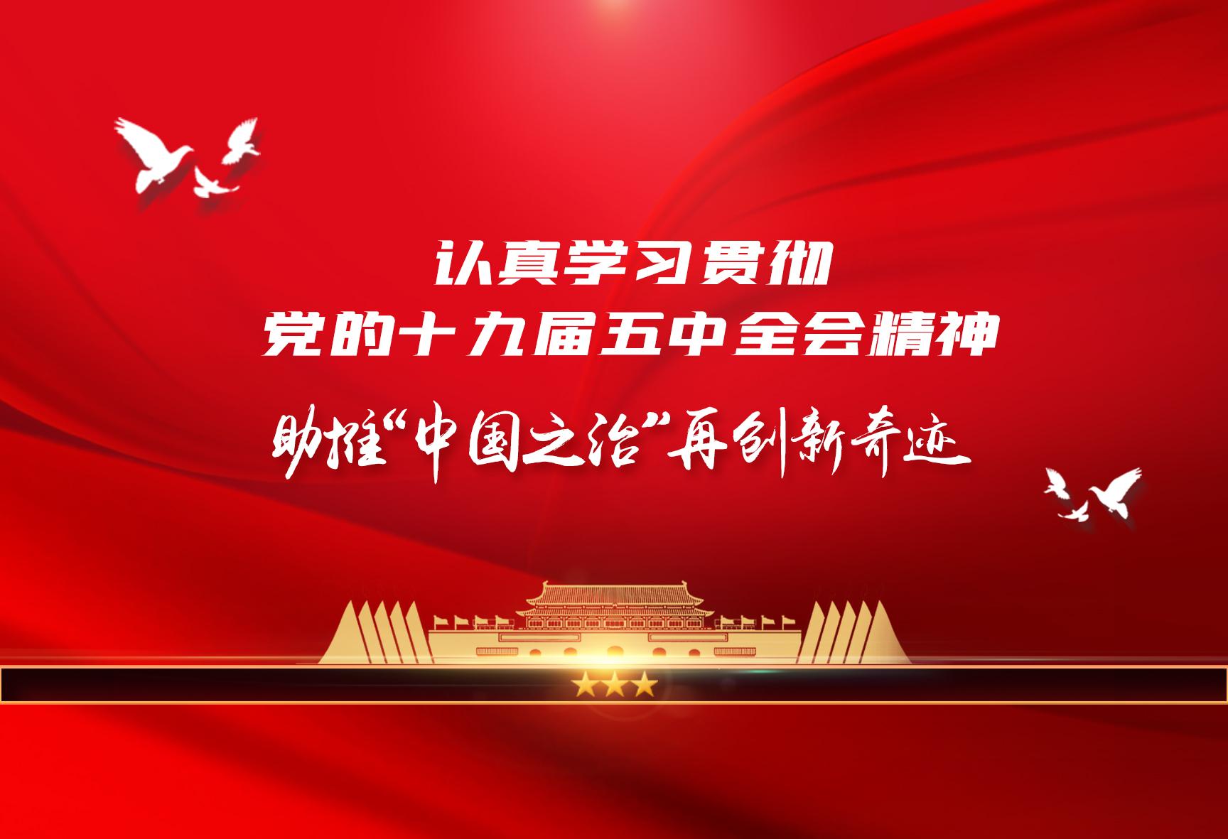 """助推""""中国之治""""再创新奇迹"""