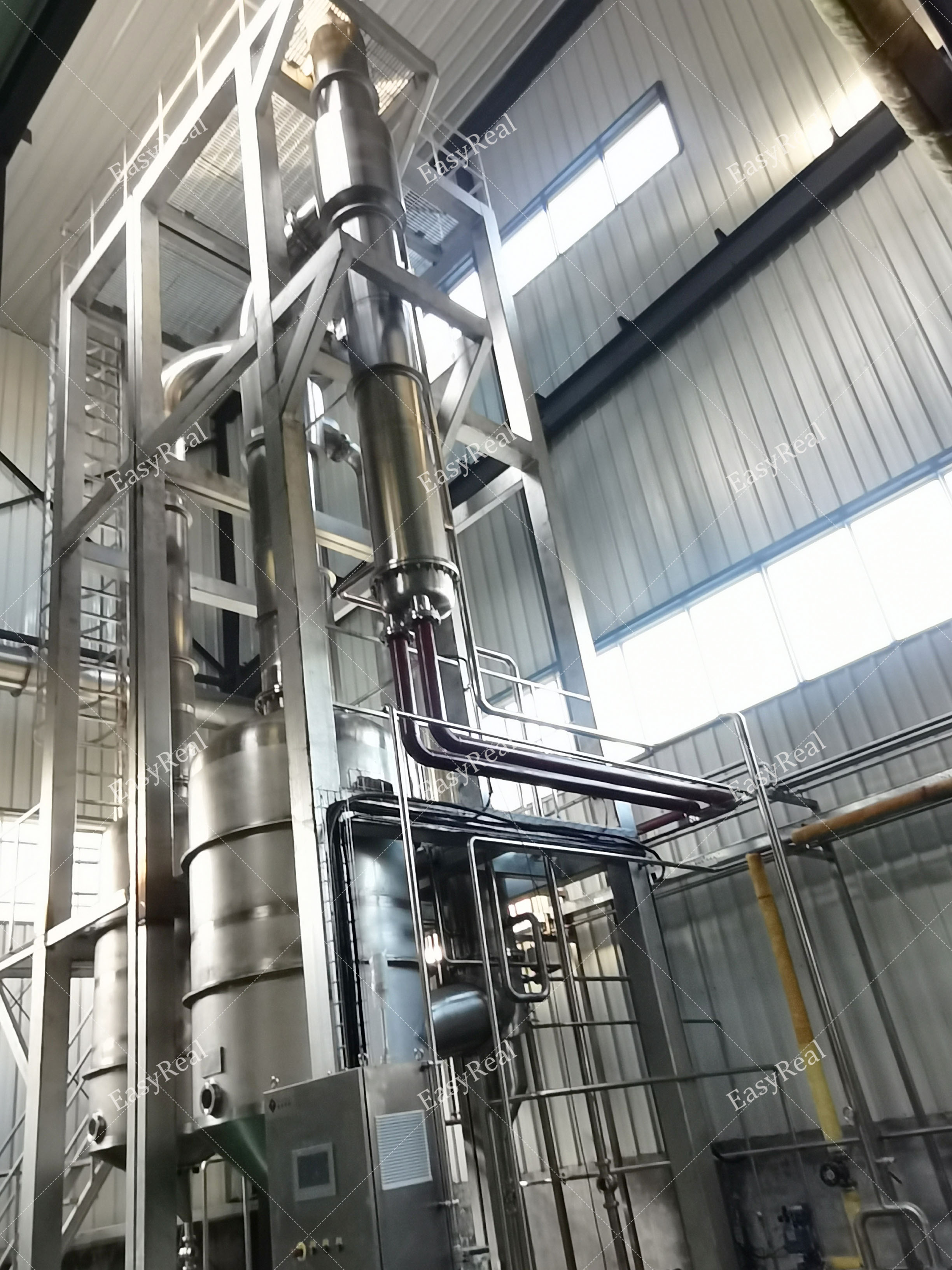 降膜濃縮蒸發器1