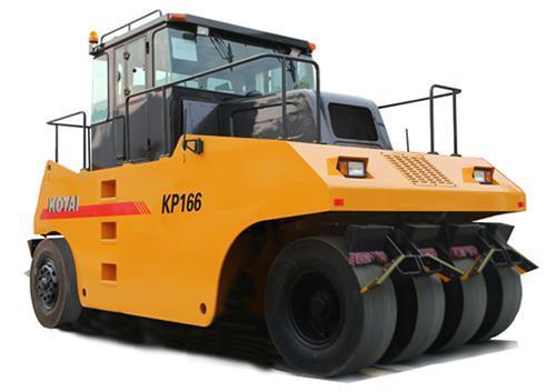KP166輪胎壓路機