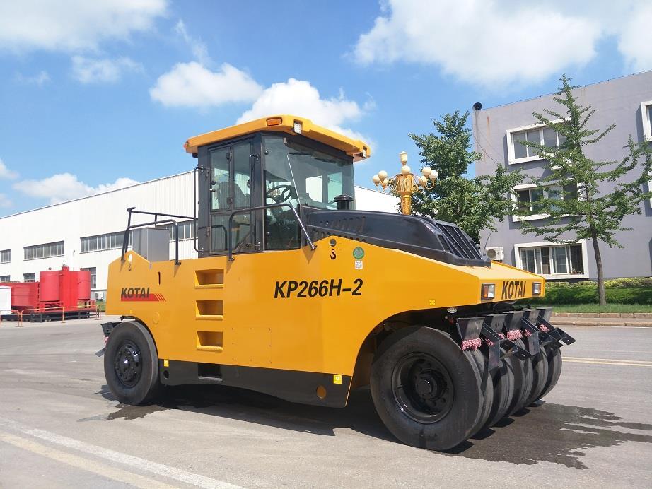 KP266H-2轮胎压路机
