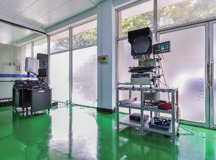 影像測量測試區