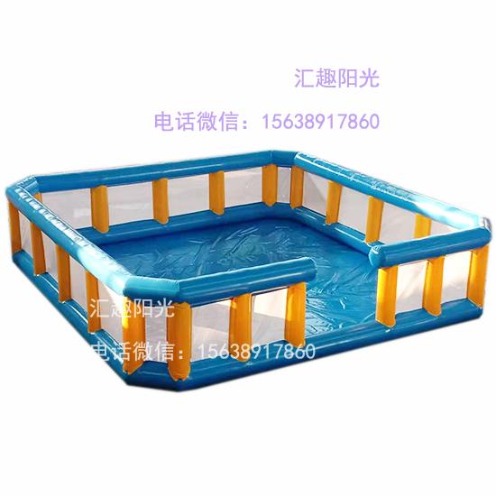 充气游乐设备海洋球池-7