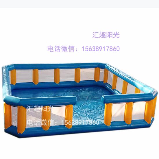 充气游乐设备海洋球池-9