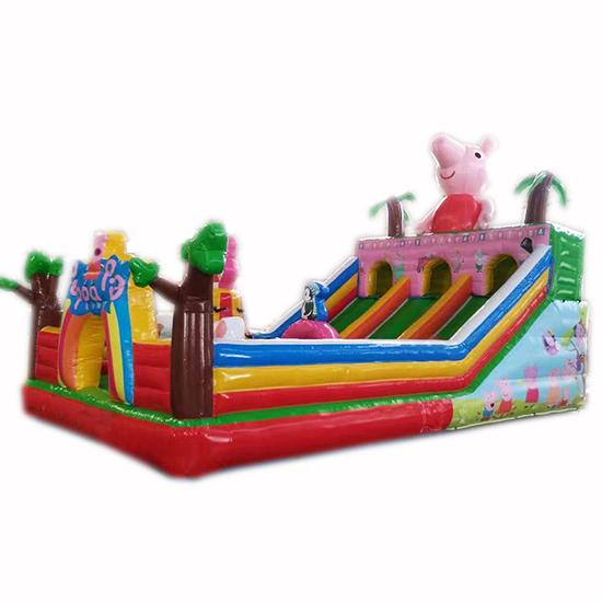 充气城堡滑梯小猪佩奇-6