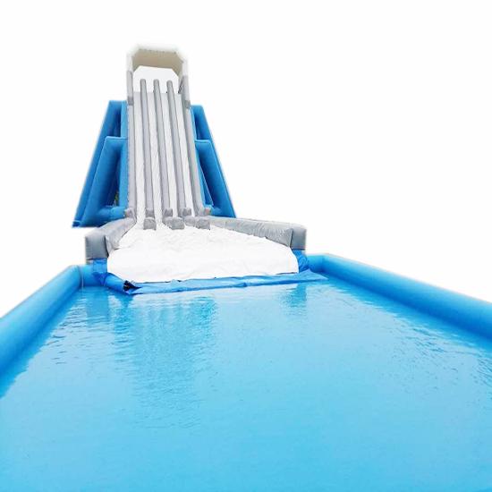 充气水池水滑梯