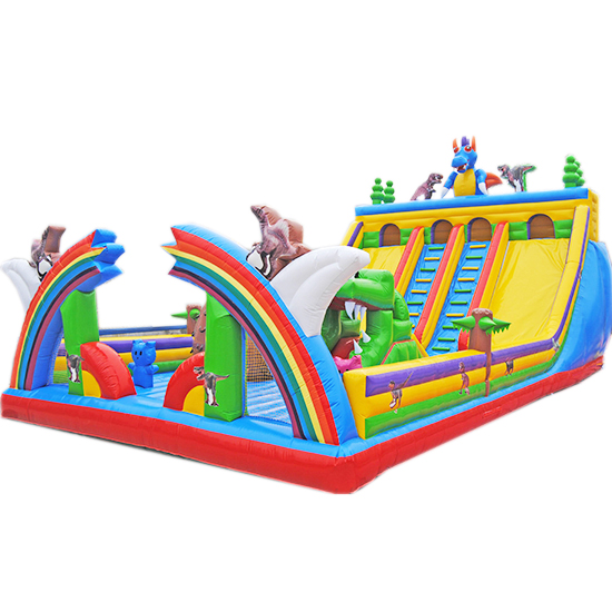 充气城堡滑梯恐龙乐园