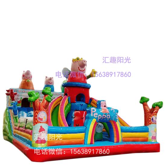 儿童充气城堡小猪-7