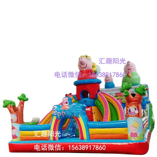 儿童充气城堡小猪-8