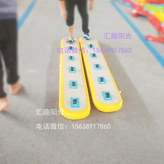 趣味运动会项目充气协力竞走-5