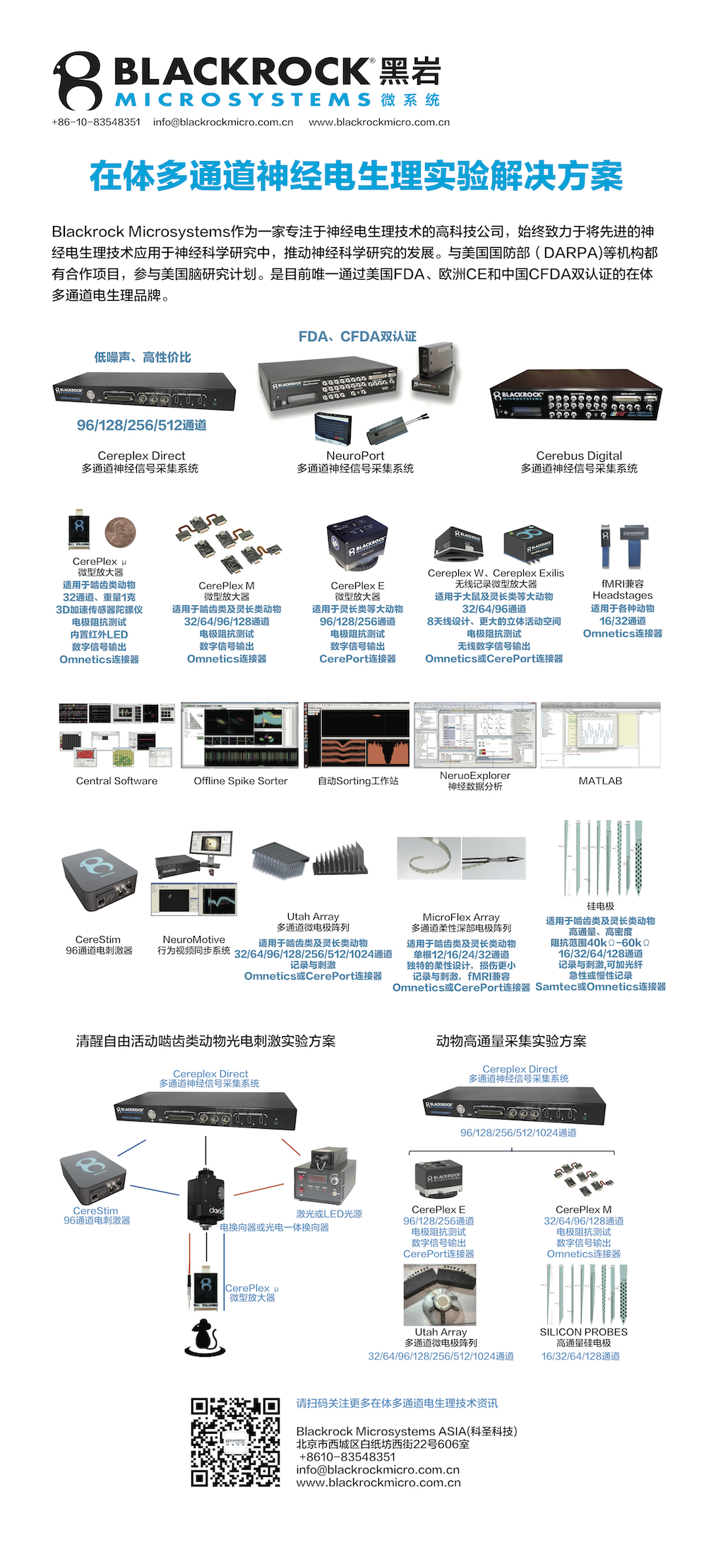 Blackrockmicrosystems在体电生理产品概括-20191104