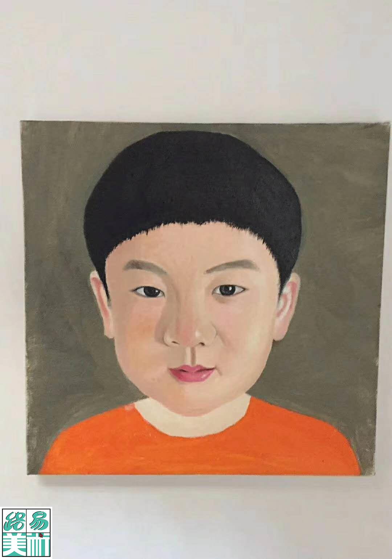 路易美术成人学员成长足迹之范同学
