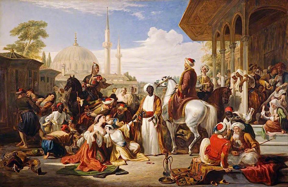 TheSlaveMarket,Constantinople-1838