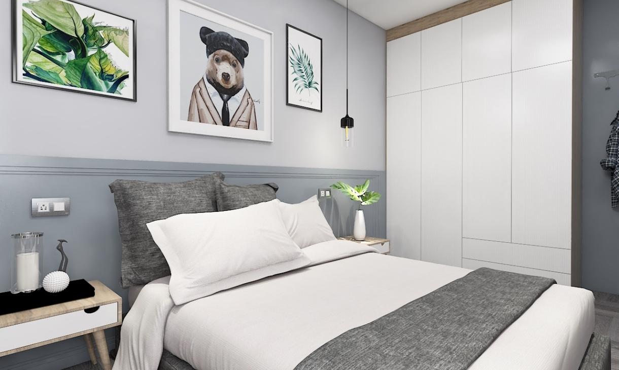 定制现代卧室-1