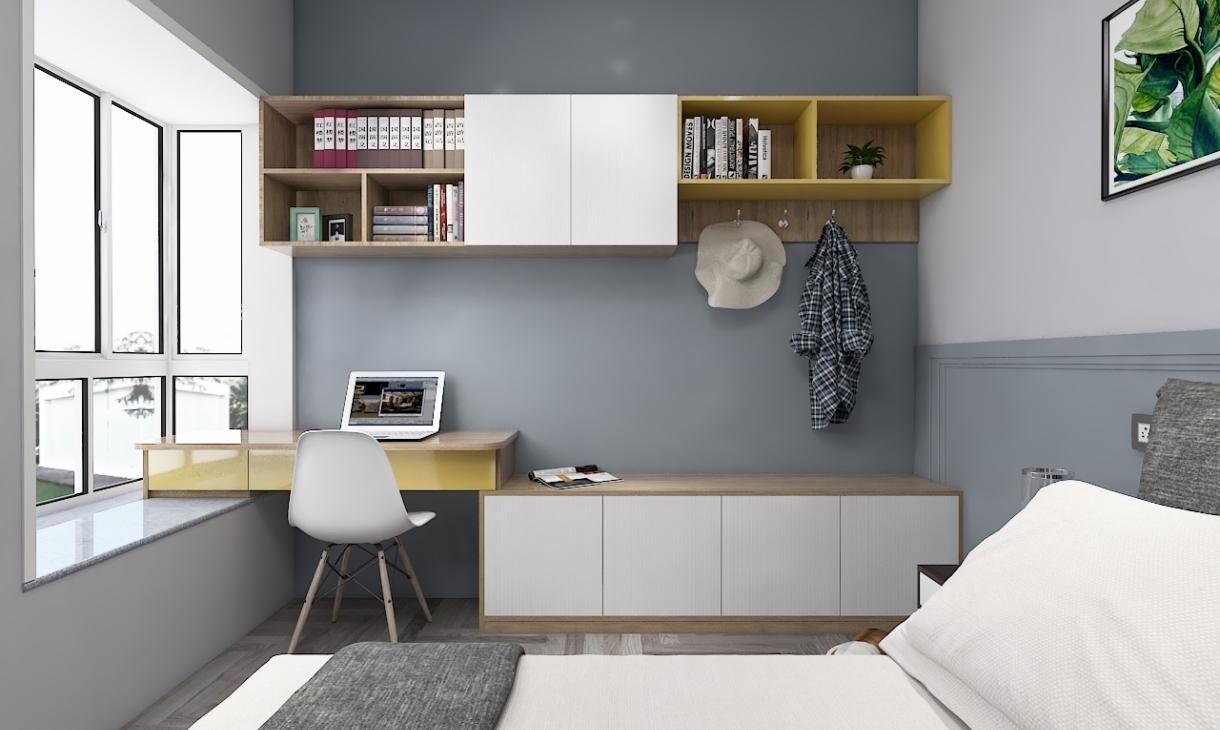定制现代卧室-2