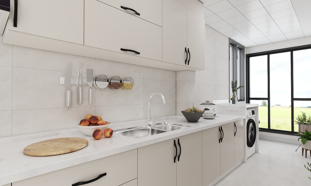 定制现代厨房-1