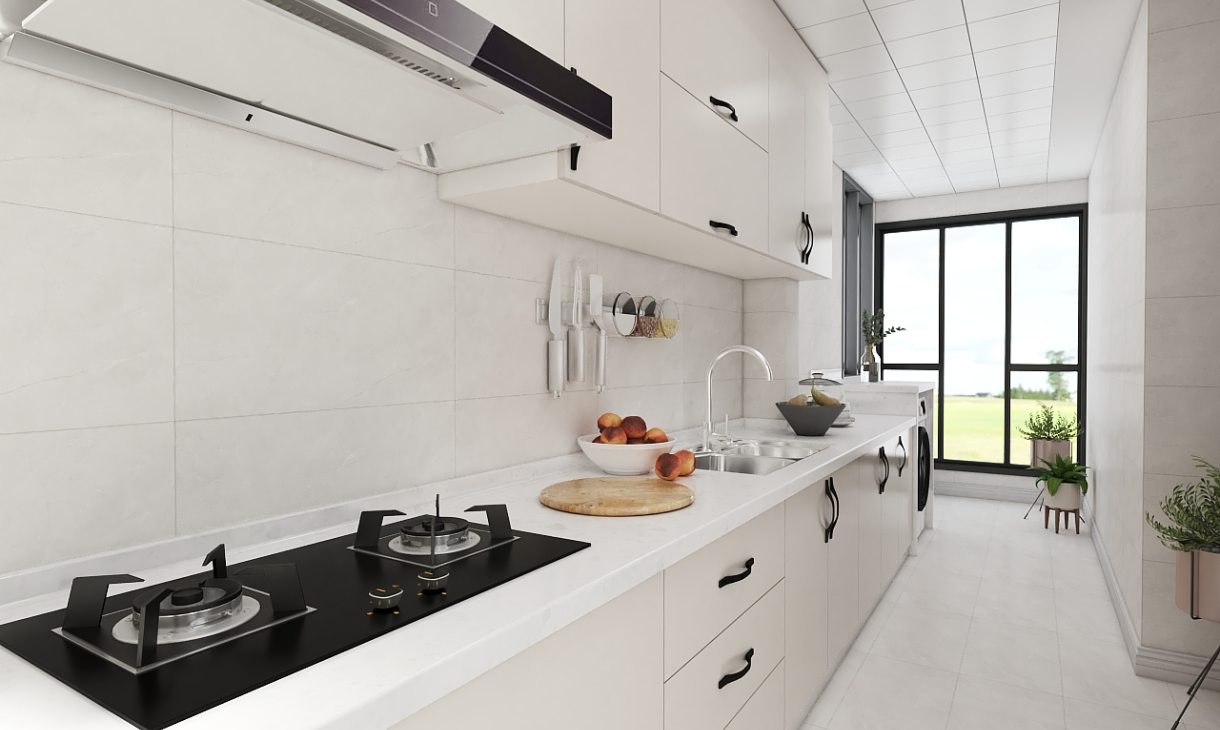 定制现代厨房-2