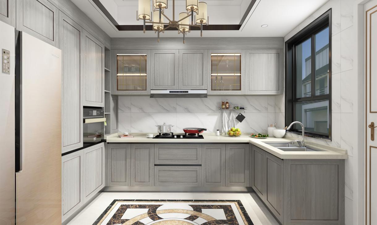 定制新中式厨房-1