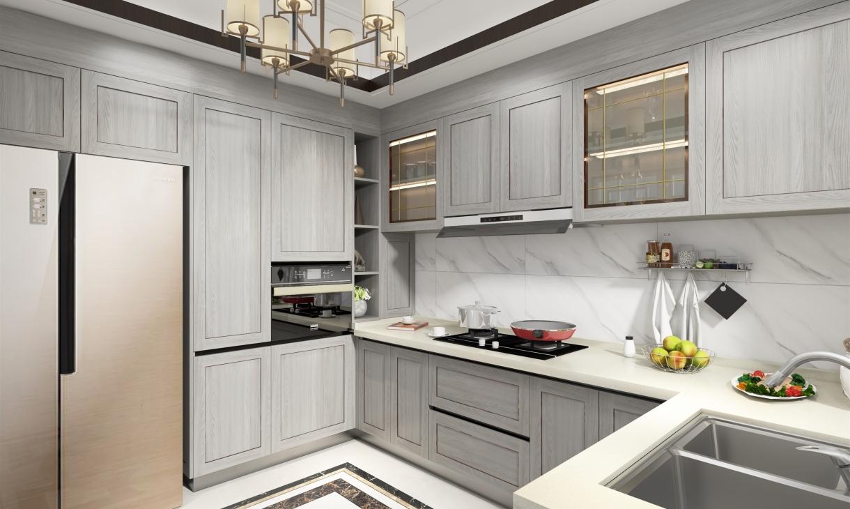 定制新中式厨房-2