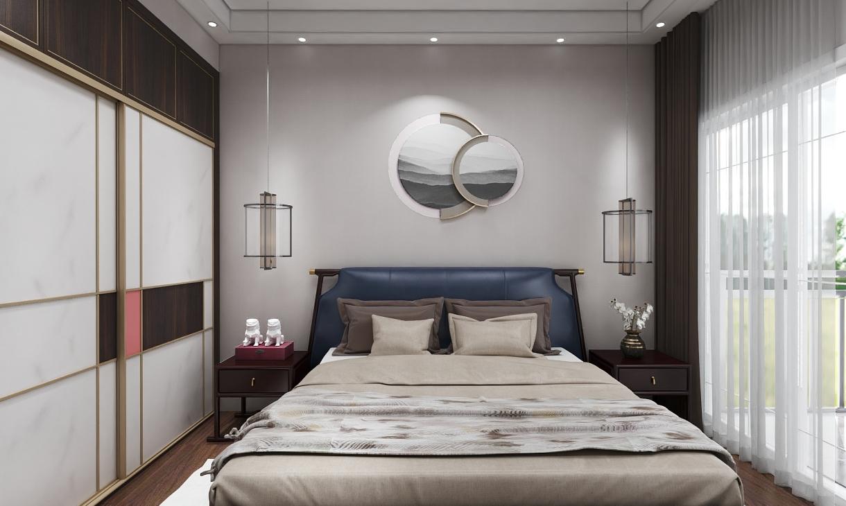 定制新中式卧室
